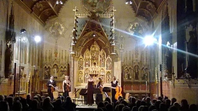 Schumannkwintet i.s.m. Cordae Lysis in de Oude abdij te Drongen