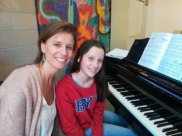 Pianoles in de academie